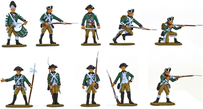 Queen's Own American Rangers - basic paint