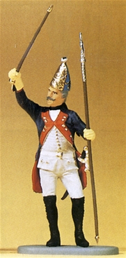 Prussian Officer with Spontoon