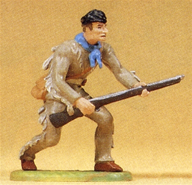 Frontiersman Stalking with Rifle - 3 left
