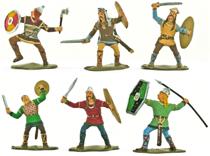 Ancient Gallic Warriors - Fully painted