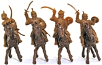 Moorish Warriors - mounted poses