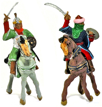 Mounted Moorish Warriors - Fully painted