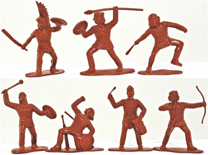 Aztecs - 20 in 8 poses