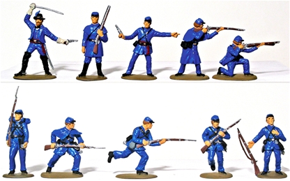 Union Infantry - Basic paint job
