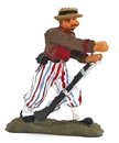 Civil War Zouave - 1862 - fully painted