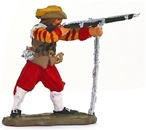 British Musketeer - 1645 - fully painted
