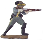 C.S.A. Cavalryman - 1863 - fully painted