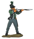 British 95th Rifleman Standing Firing - 1812
