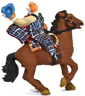 Bonnie Prince Charlie Mounted - Fully painted