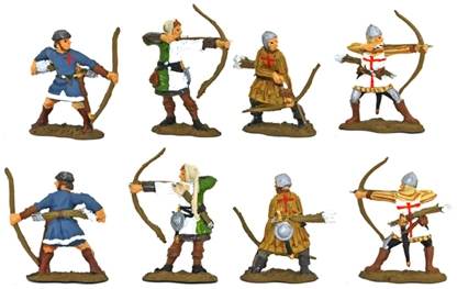 Medieval Archers - Fully painted