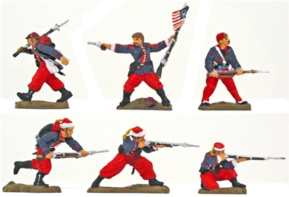 14th NY Zouave Regiment - Fully painted