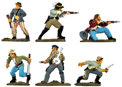 C.S.A. Raiders 1863 - Full paint - 2 sets remain