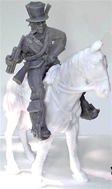C.S.A.Cavalryman with Stick of Dynamite