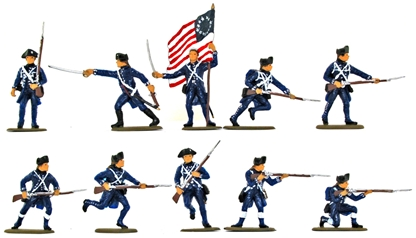 U.S. Infantry of the Continental Line - Basic Pain