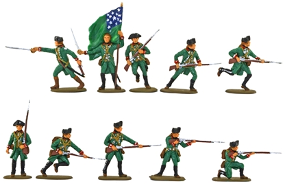 Green Mountain Boys Set #3 - Basic paint job