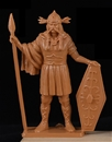 Ancient Gaul - Chief Standing with Spear