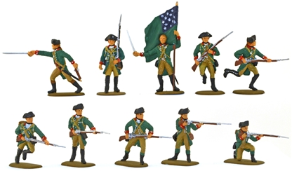 Green Mountain Boys 1779 - Fully painted
