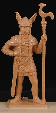 Ancient Gaul - Standard Bearer w/ Rooster Device