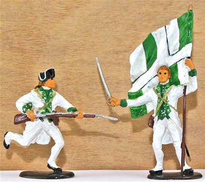 French Etranger Infantry  - Fully painted