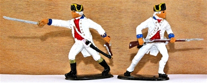 French LaSarre Regiment - Fully painted