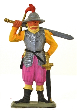 German Landsknecht with Two-Handed Sword