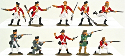 British Regulars & Light Infantry - Fully painted