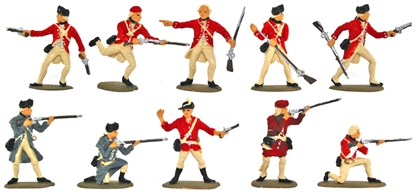 British Regulars and Light Infantry - Basic painte