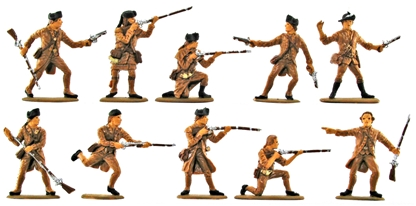 American Militia Set #2 - Basic paint job