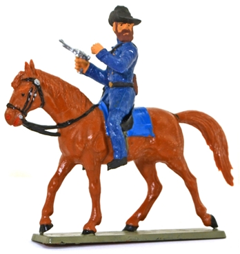 Union Cavalry - Officer with Pistol