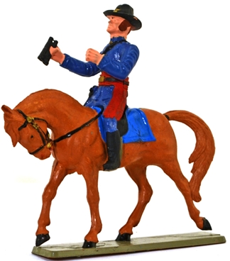 Union Cavalry - Officer with Binoculars