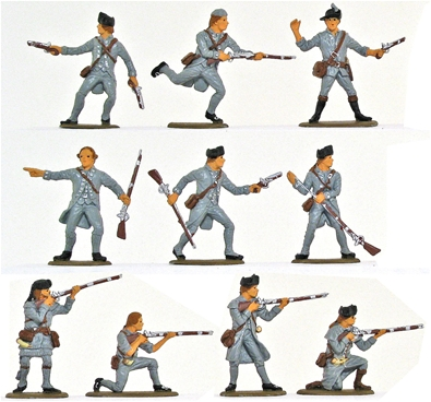 American Regular Infantry - Basic paint job