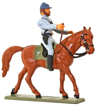 Confederate Cavalry - Officer with Riding Crop