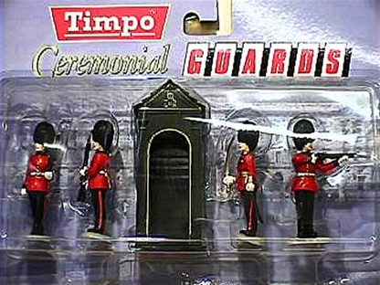 British Guards with Sentry Box