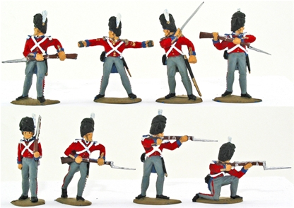British Guards - Crimean War - fully painted