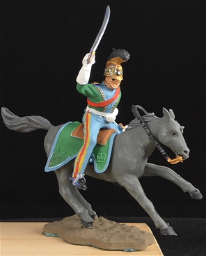 Waterloo French Cavalry - Fully painted