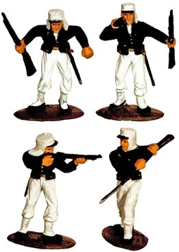 French Foreign Legion - Fully painted set