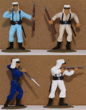 French Foreign Legion - Basic painted set