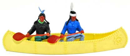 Original Indians Canoe Set - yellow canoe