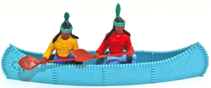 Original Indians Canoe Set - blue canoe