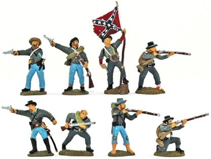 C.S.A. Infantry - Full paint