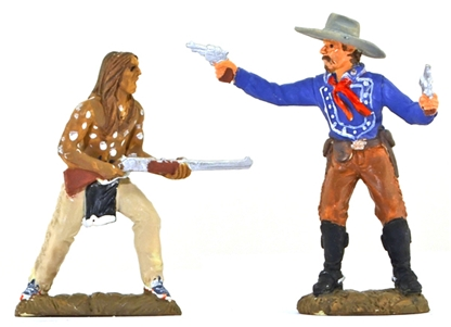 Custer and Crazy Horse - Full paint
