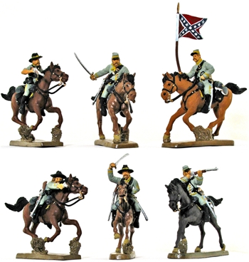 Civil War C.S.A. Cavalry #1 - Full paint