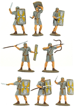 Imperial Roman Infantry - basic paint