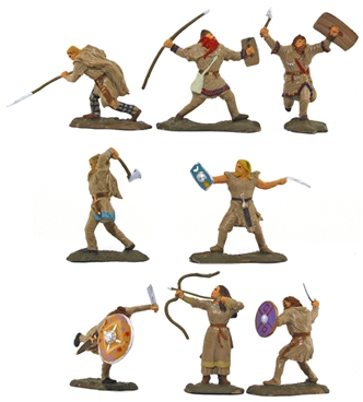 Barbarian Infantry - basic paint