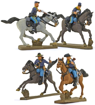 U.S. Cavalry #5 - Riders in Action full paint