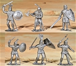 Silver Foot Knights - set of 10