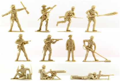 WWII British 8th Army - low stock!