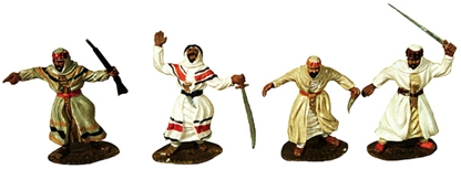 Arabs - Fully painted