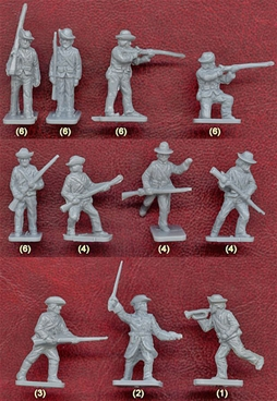 Confederate Infantry - Original mint-boxed set