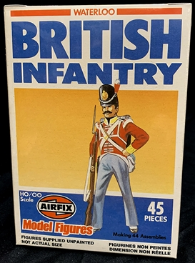 Napoleonic British Infantry - original set - mint